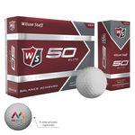 Custom Wilson Staff 50 Elite Balls