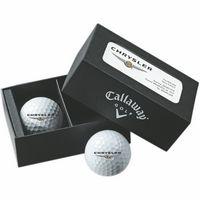Callaway 2-Ball Business Card Box w/ Warbird