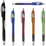 Custom Archer2 Stylus Pen w/ Black Gripper & Black Ink