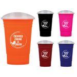 Custom 16 Oz. Party Cup w/Lid