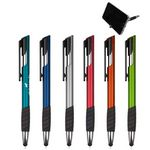 Custom Kickstand Metallic Stylus Pen & Phone Stand