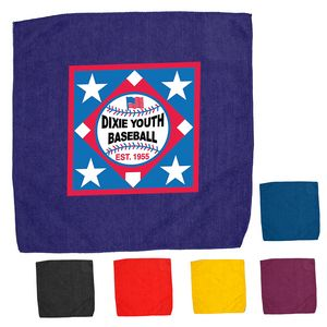15 x 15 Hemmed Color Rally Towel