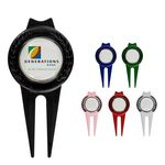 Tour Divot Tool with Magnetic Marker