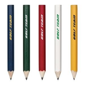 Hex Wooden Golf Pencil