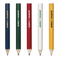 Hex Wooden Golf Pencil