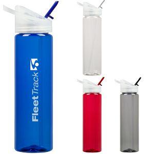 Custom Printed Plastic Water Bottles