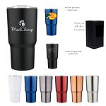 Custom 20 oz Chimp Double Wall Stainless Vacuum Tumbler