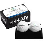 Custom Pinnacle Rush 2-Ball Business Card Box