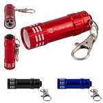 Custom Mini LED Flashlight Keychain