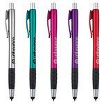 Custom Dali Stylus Pen w/ Metallic & Black Gripper