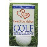 1625 Full Color Golf Towel includes Hook/Grommet