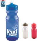 Custom 24 Oz. Polyclear Bottle
