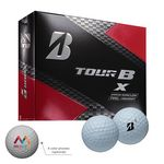 Custom Bridgestone Tour BX Golf Balls
