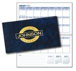Custom Horizontal Premium Leatherette Pocket Planner
