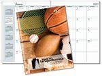Custom Stock Image Paper Cover Monthly Desk Planner (7
