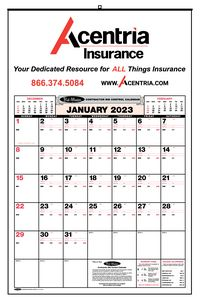 Bid Master Commercial Wall Calendar W 1 Color Imprint 300 1 Ideastage Promotional Products
