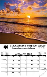 Stock Apron Wall Calendar