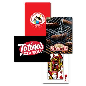 Full Color Custom Back Poker Size Playing Cards