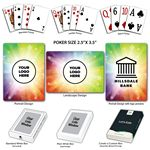 Custom Celebration Theme Poker Size Playing Cards