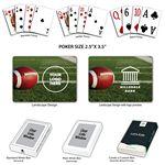 Custom Football Theme Poker Size Playing Cards