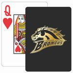 Custom Baronet Black Poker Size Playing Cards w/Super Pip Face
