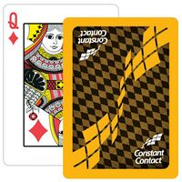 Paper Custom Design Poker Size Playing Card w/2 Colors