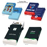 Custom Playing Card Tuck Boxes Poker or Bridge Size