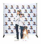 Custom Step & Repeat 8.5'x8' Backdrop Banner Kit