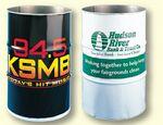 Custom Trash Drum Cover (2 Color Print)