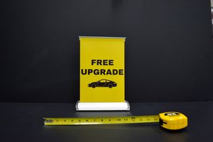 Mini Tabletop 8 x 13 Retractable Banner Stand