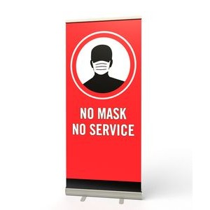 Retractable Banner Stand (No Mask No Service)