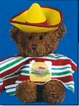 Custom Mexican Accessory for Stuffed Animal - 2 Piece