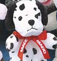 "7""- 8"" Bean Bag Pals™ Dalmatian Dog"