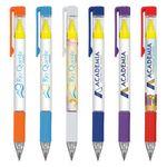 Custom Duplex Brights Highlighter and Pen (Digital Full Color Wrap)