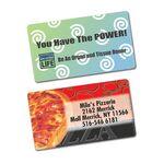 Custom SimpliColor Business Card Magnet - Full Color Magnet (Rectangle, 3-1/2