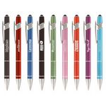 Custom Ellipse Stylus Pen - Full-Color Metal Pen