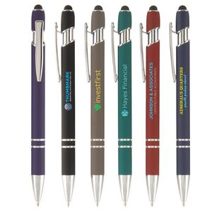 Ellipse Softy with Stylus - Full-Color Metal Pen