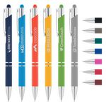 Tres-Chic Softy Pen w/ Stylus Top - Laser