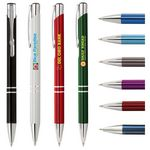 Custom Tres-Chic Pen - Full-Color Metal Pen