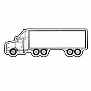 coloring pages of 18 wheelers trucks | Magnet - 18 Wheeler Semi Truck - Full Color - 9451-M9 ...