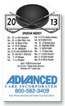 20 Mil Hockey Schedule Magnet - Full Color