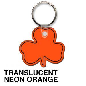 Translucent Neon Orange Blank