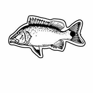 Custom Printed Fish Shaped Zipper Pulls
