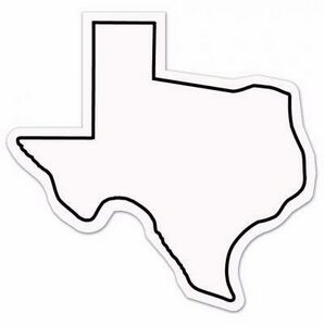 magnet texas state shape full color 9053tx 2 ideastage