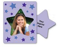 30 Mil Star Center Picture Frame Magnet - Full Color