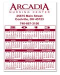 Custom Magnet - Calendar Rectangle 3 Day - One Color