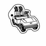 Golf Cart 2 Key Tag - Spot Color