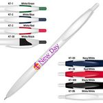Custom Kontour Retractable Ballpoint Pen