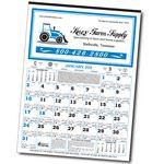 Custom 12-Sheet Almanac Calendar (Thru 4/30)