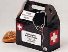 Custom Printed Doctor Medical Bag Design Donut Boxes